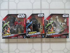 HERO MASHERS STAR WARS DARTH MAUL & DARTH VADER & GENERAL GRIEVOUS