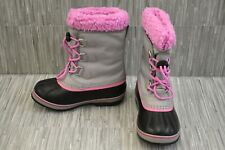 Sorel Yoot Pac Snow Boots, Little Girl's Size 2, Gray