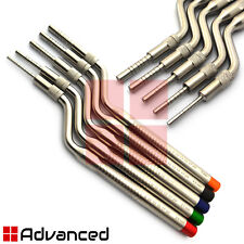 Dental Offset Osteotomes Concave Tip Sinus Lift Surgical Implant Instruments Kit