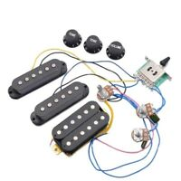ST Electric Guitar Pickups Wiring Harness Prewired 5-Way Switch 2T1V SSH Pickups