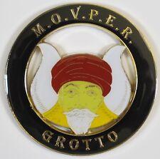 Auto Emblem Masonic Grotto MOVPER Shrine Mason Freemason