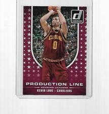 2014-2015 PANINI DONRUSS BASKETBALL PRODUCTION LINE KEVIN LOVE #4