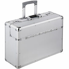 Valise mallette de pilote XL en pilot case trolley à roulettes avec poignée