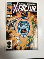 X-Factor (1986) # 6 (VF) 1st Full Appearance Of Apocalypse !