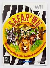 SAFAR'WII - NINTENDO WII - PAL ESPAÑA - SAFARI SAFAR SAFAR' WII WILD ANIMALS
