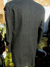 Super Looking Gents Long Coat Poly Wool Blend by Burton Size L