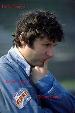 Jean-PIERRE JARIER SHADOW f1 ritratto italiano GRAND PRIX 1976 Fotografia