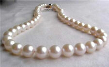 10-11mm White Akoya Cultured Pearl Necklace 18Inch JN894