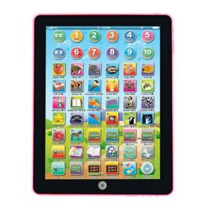 Mini Kids Children Tablet Pad Educational Learning Toys Gift for Boys Girls Baby