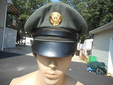 US Army Enlisted Mans Cap 1950s era Size 7 1/4