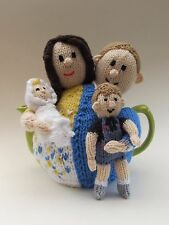 Prince William and Kate Tea Cosy Knitting Pattern - knit your own!