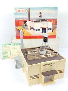 VINTAGE PLASTICVILLE MFG CO. FACTORY 1906 198 MODEL TRAIN BUILDING KIT ORIG BOX