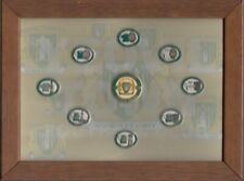 More details for yeovil town fc  9 enamel pin badge framed memorabilia