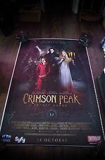CRIMSON PEAK 4x6 ft Bus Shelter D/S Movie Poster Original 2015