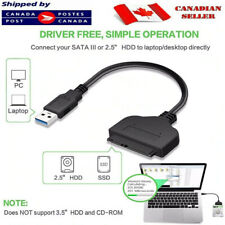"USB 3.0 to 2.5"" SSD SATA III For Hard Drive Adapter Cable UASP SATA HDD to USB"