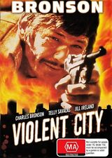 VIOLENT CITY - CHARLES BRONSON - NEW & SEALED DVD