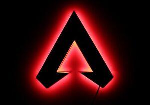Apex legends lamp Night lights, LED apex  Logo, Video Game Decor, Lighting
