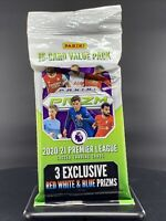 Panini Prizm 2020-2021 Premier League EPL Soccer Cello Value Fat Pack