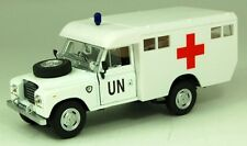 CARARAMA 251XND003 Land Rover UN Ambulance Series 111 1/43 Scale New Boxed