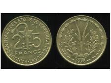 ETATS DE L'AFRIQUE DE L'OUEST  25 francs 1978  ( SUP )  ( bis )
