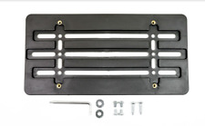 License Plate Tag Holder Mount Relocator Adapter Bumper Kit Bracket for VOLVO