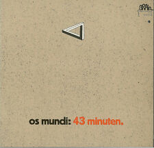 os mundi - 43  minuten  ( D 1970 )  - CD