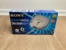 Sony Discman D-E441 ESP2 Tragbarer CD-Player OVP neuwertig Selten - Unbenutzt