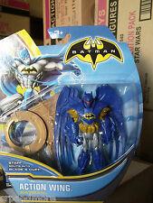 Batman Super Heroes and Villains 4-Inch Action Figure-Action Wing Batman-NEW