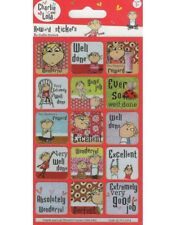 Paper Projects Charlie & Lola Reusable Foil Reward Stickers Age 3 +