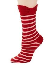 f55db9d8351 Womens Kate Spade Socks Dynasty Red Trouser Sock Wool Blend Striped 2KF4U120