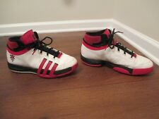 Used Worn Size 12 Adidas TMAC TS Creator Shoes White Black Red