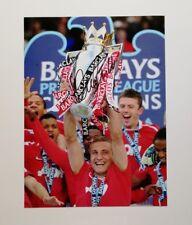 "Nemanja Vidic signed 16x12"" Manchester United photo / COA"