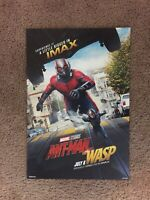 ANT-MAN AND THE WASP: 13x19 IMAX Movie Poster Marvel Studios 2018 #206/500