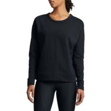Nike Women's Dry Versa Cover Up Shirt Size M UK 12-14 Black DH076 GG 03