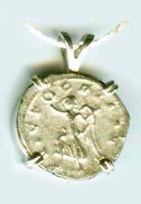 AD249 Silver Denarius (Coin) Roman Emperor Trajan Decius & Victory Goddess Nike