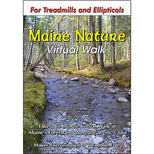 Maine Nature Walk Treadmill Dvd - Scenery Video For Exercise Fitness Weight Loss