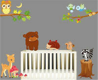 Animal zoo bear Wall Decor Vinyl Decal Stickers Removable Nursery Kids Baby Art