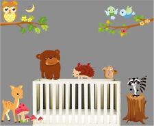 Animal zoo bear Wall Decor Vinyl Decal Stickers Removable Nursery Kids Baby Art