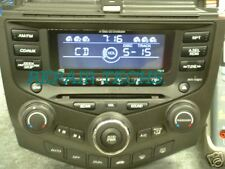 HONDA ACCORD 2003-04 AM FM 6 CD  REPAIR for NO DISPLAY