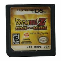 Dragon Ball Z: Attack of the Saiyans (Nintendo DS, 2009) Authentic Tested Works