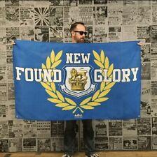 New listing New Found Glory Flag Banner Alkaline Trio Less Than Jake Blink 182 Mxpx Lagwagon