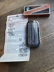 Vintage Rolls Razor Imperial No. 2 Shave Ready 100% Complete Boxed Instructions