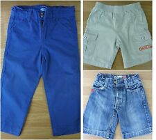 Boys Trousers Andy & Evans. Shorts x 2 Quicksilver, Sailing Corp All Age 2 Years
