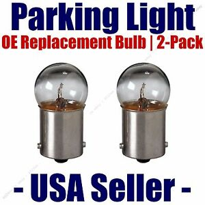 Parking Light Bulb 2-pack OE Replacement Fits Listed Lamborghini Vehicles - 5007