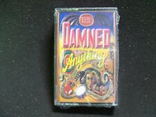 The Damned Anything SEALED 1986 Cassette Tape New Wave Punk Goth Post-Punk UK