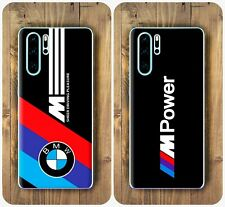 BMW M Logo style Cover case for Huawei All Models Mate P Honor view Play Smart