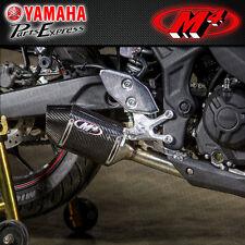 2016 16 YAMAHA YZF-R3 YZF R3 M4 STREET SLAYER CARBON FIBER SLIP ON EXHAUST
