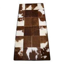 Tapis en cuir de vache - 188 patchwork fourrure pièce unique 150 x 74 cm