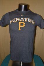 Majestic Mlb Mens Pittsburgh Pirates Baseball Shirt Nwt S, M, Xl, 2Xl