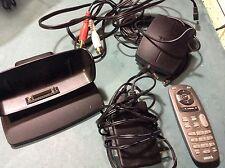 USED Sirius Sportster SP-H2 Xm Radio Complete Home Cradle Dock Kit SPH2R READ